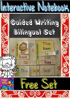 Guided Writing - Interactive Notebook foldables - Bilingua