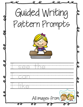 Guided Writing Pattern Prompts for Emerging Writers - writ
