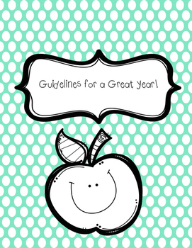 Guidelines for a Great School Year!