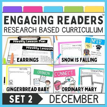 Guiding Readers: December SET TWO NO PREP ELA Unit for K-1