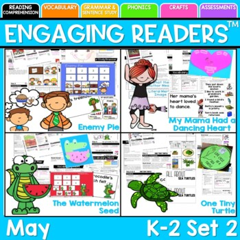 Guiding Readers: MAY SET TWO NO PREP ELA Unit for K-1
