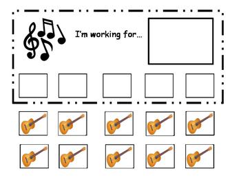 Guitar token board