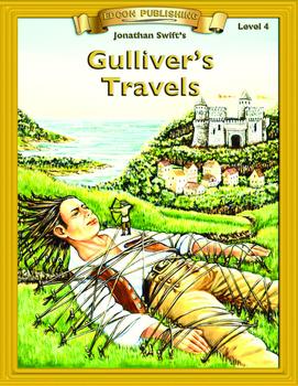 Gulliver's Travels RL4-5 Adapted and Abridged Novel