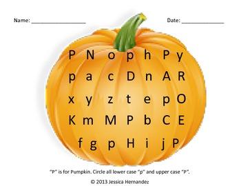 P is for Pumpkin