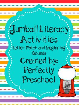 Gumball Literacy Activities
