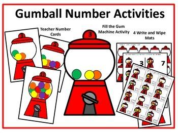 Gumball Math Activities