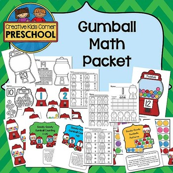 Gumball Math Packet