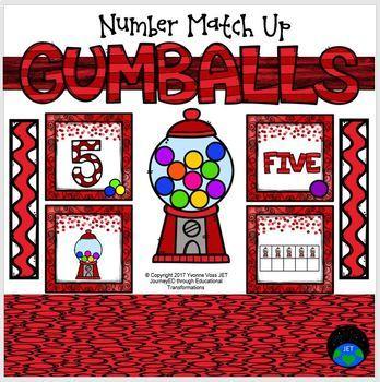 Gumballs Number Match Up