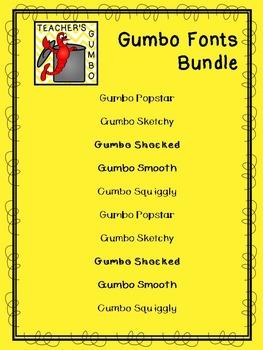 Gumbo Fonts Bundle