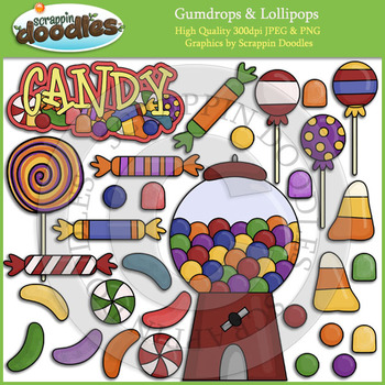 Gumdrops & Lollipops