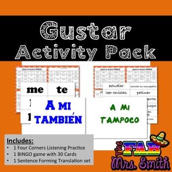Gustar Activity Pack