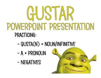 Gustar + noun/infinitive practice