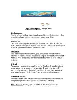 Guys From Space STEM Children's Engineering Design Brief