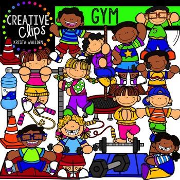Gym {Creative Clips Digital Clipart}