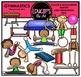 Gymnastics Clip Art Bundle