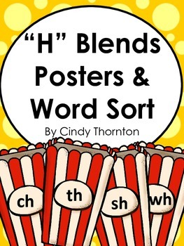 H Blends Posters And Word Sort