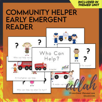 H is for Helping Our Community Early Emergent Reader