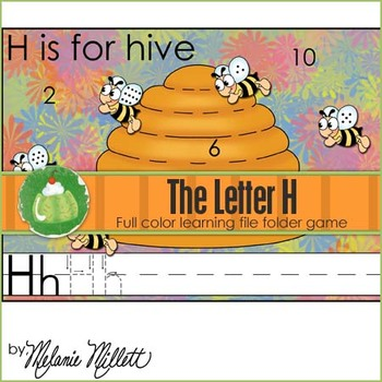 H is for Hive File Folder Game
