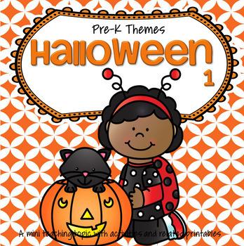 HALLOWEEN Theme Activities for Preschool and Pre-K