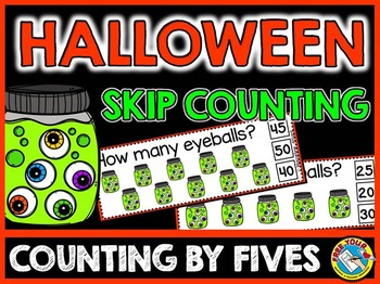 HALLOWEEN MATH ACTIVITIES: HALLOWEEN SKIP COUNTING CENTER: