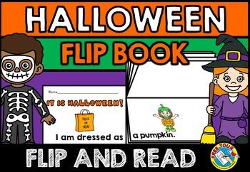 HALLOWEEN ACTIVITIES: HALLOWEEN COSTUMES FLIP BOOK: HALLOW