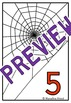 HALLOWEEN MATH CENTER: COUNTING SPIDERS GAME: NUMBERS 1-10