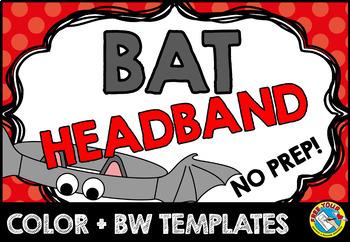 BAT CRAFTS: BAT HEADBAND CRAFTS: BAT ACTIVITIES:BAT HAT CR
