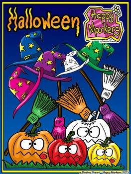 HALLOWEEN FREEBIE clip art by Happy Markers