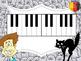 HALLOWEEN - MUSIC STAFF/ PIANO SPOOKY SPELLING BEE