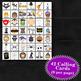 HALLOWEEN - PURPLE 5x5 BINGO - 60 CARDS