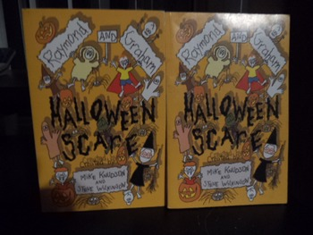 HALLOWEEN SCARE (Signed by Author)      (SET OF 2)
