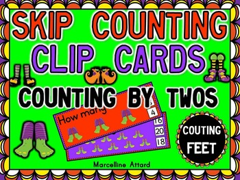 HALLOWEEN MATH CENTER: SKIP COUNTING CENTER:COUNTING BY 2'
