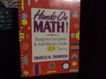 HANDS-ON MATH!  ISBN0-87628-383-0
