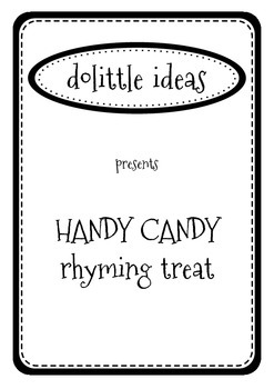 HANDY CANDY - RHYMING WORDS