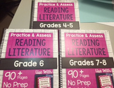 *HARD COPY* Practice & Assess Reading Literature DIFFERENT