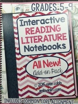 HARD COPY Interactive Reading Literature Notebooks 2 ALL N
