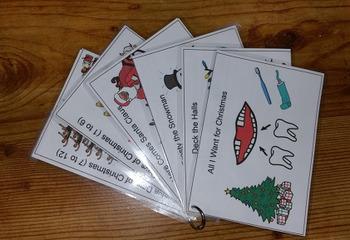 HARD GOOD - Christmas Song Cards Stocking Stuffer