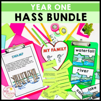 HASS Geography and History Units Bundle aligned to the Australian Curriculum