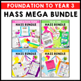 HASS Mega Bundle Geography and History Units Years F-3 ali