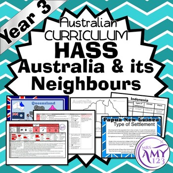 HASS YEAR 3 Australia and its Neighbours - ACARA