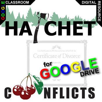HATCHET Conflict Graphic Organizer (Created for Digital)