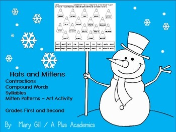January Hats and Mittens - Frist / Second Grade