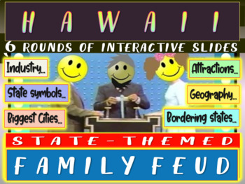 HAWAII FAMILY FEUD! Engaging game about cities, geography,