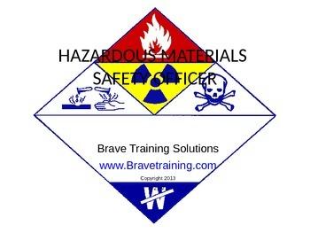 HAZMAT SAFETY OFFICER (hazardous materials)