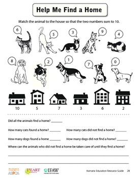 HEART (Humane Education): Lesson 3 - Help Me Find a Home (
