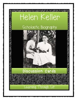 HELEN KELLER Scholastic Biography by Margaret Davidson - D