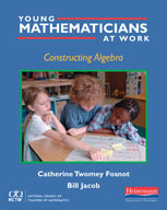 Young Mathematicians at Work: Constructing Algebra