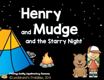 Reading Street, HENRY AND MUDGE AND THE STARRY NIGHT, Pack