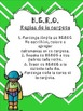 HERO Binder Cover and Rules-English and Spanish
