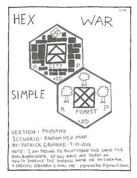 HEX WAR SIMPLE